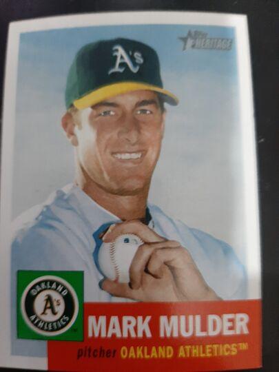 2002 Topps Heritage Mark Mulder #20