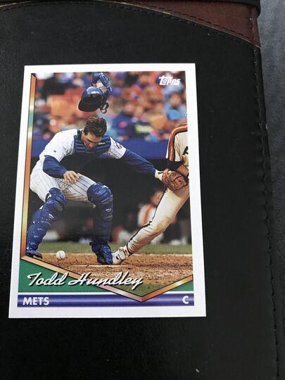 1994 Topps Todd Hundley 8