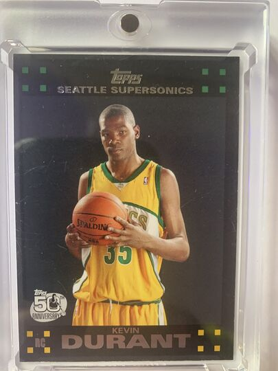 2007 topps kevin durant