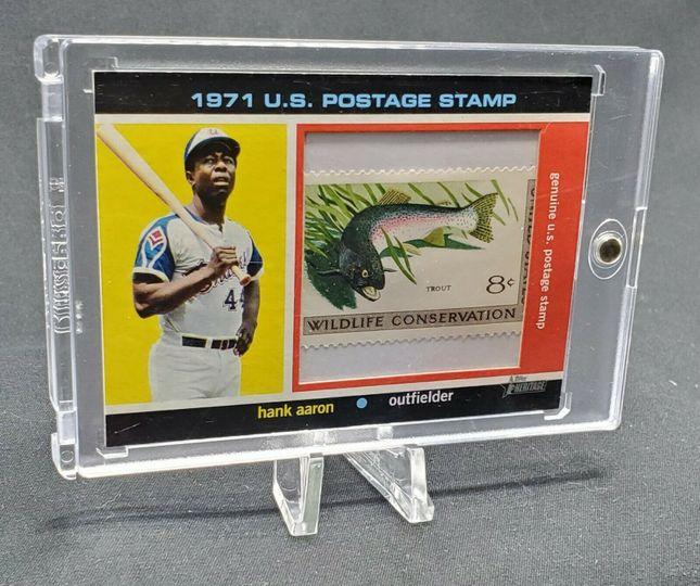 Aaron, Hank 2020 Heritage Stamp