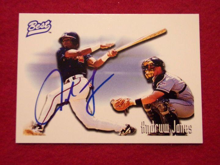 Jones, Andruw 1995 Best Autograph