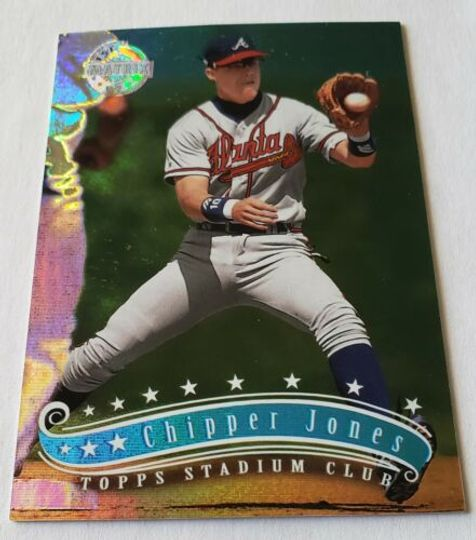 Jones, Chipper 1997 Topps Stadium Club 1