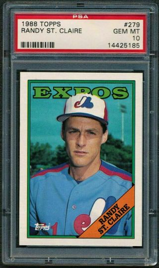 1988 Topps Randy St. Claire #279