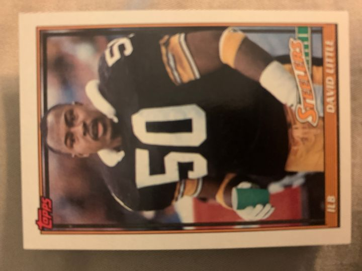 1991 Topps David Little 292