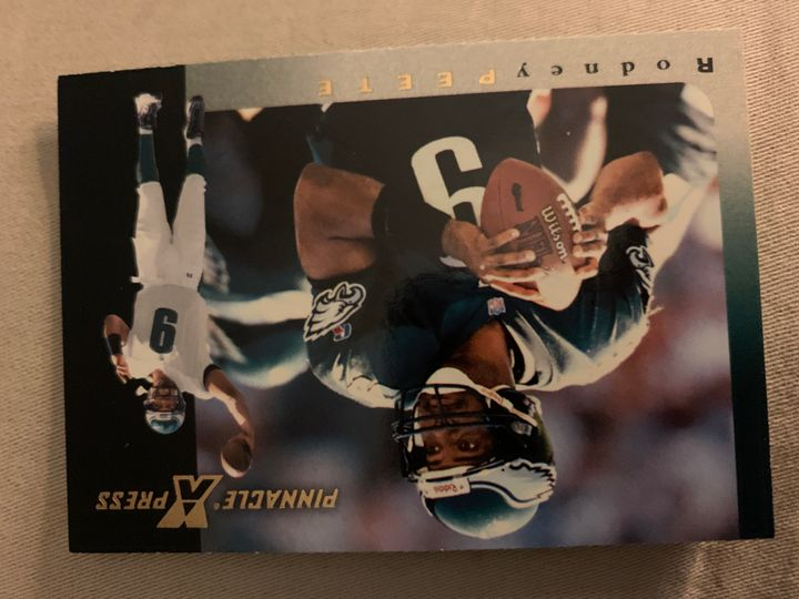 1997 Pinnacle Press Rodney Peete 43