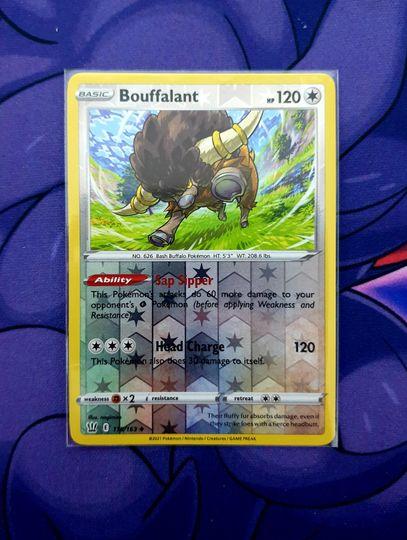 Bouffalant (118/163) Reverse Holo