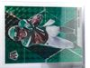 2020 Denzel Mims RC Mosaic Green Prizm #225