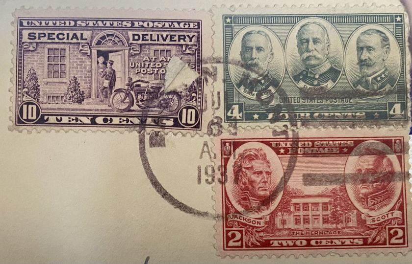 Used Stamps Collection Image