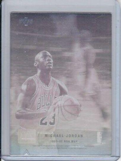 1991 1992 NBA MVP McDonald's Michael Jordan
