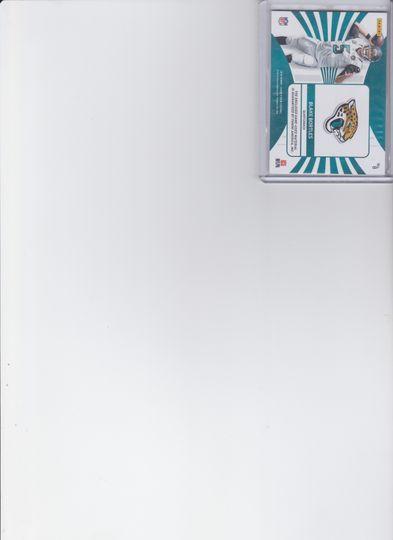 BLAKE BORTLES JERSEY CARD