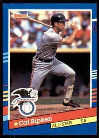 1991 donruss cal ripken jr. #52