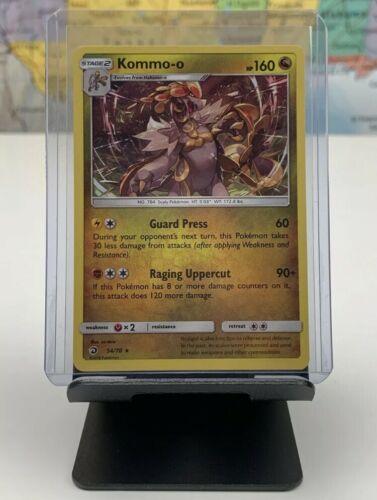 SHIPS SAME DAY Pokemon Card NEW Kommo-o 54/70 Holo Stage 2 Dragon Type 2018 Rare