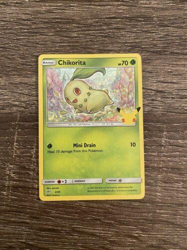 McDonald's Pokemon Holo Chikorita 2/25