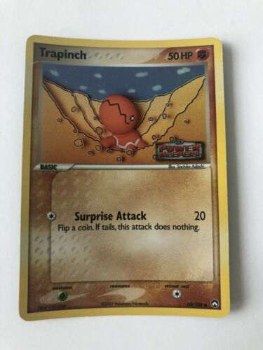 68//108 Common NM-Mint Pokemon EX 4x Trapinch Power Keepers