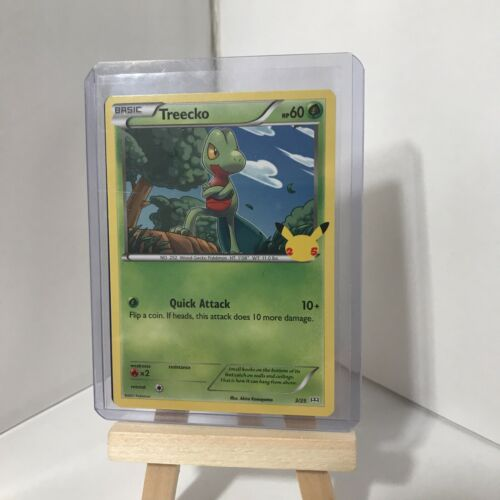 Pokemon McDonald's 25th Anniversary Treecko 3/25 HOLO & Non Holo Cards 2021 - Image 2