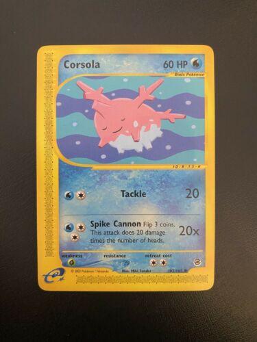 Corsola 102//165 Expedition Non Holo Common nm