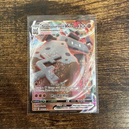 Stonjourner VMAX 116//202 Sword /& Shield Ultra Rare POKEMON CARD NM