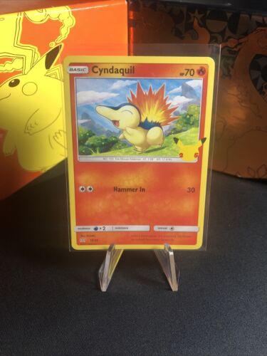Cyndaquil 10/25 - 25th Anniversary - Non Holo - McDonald's Pokemon Card - NM+
