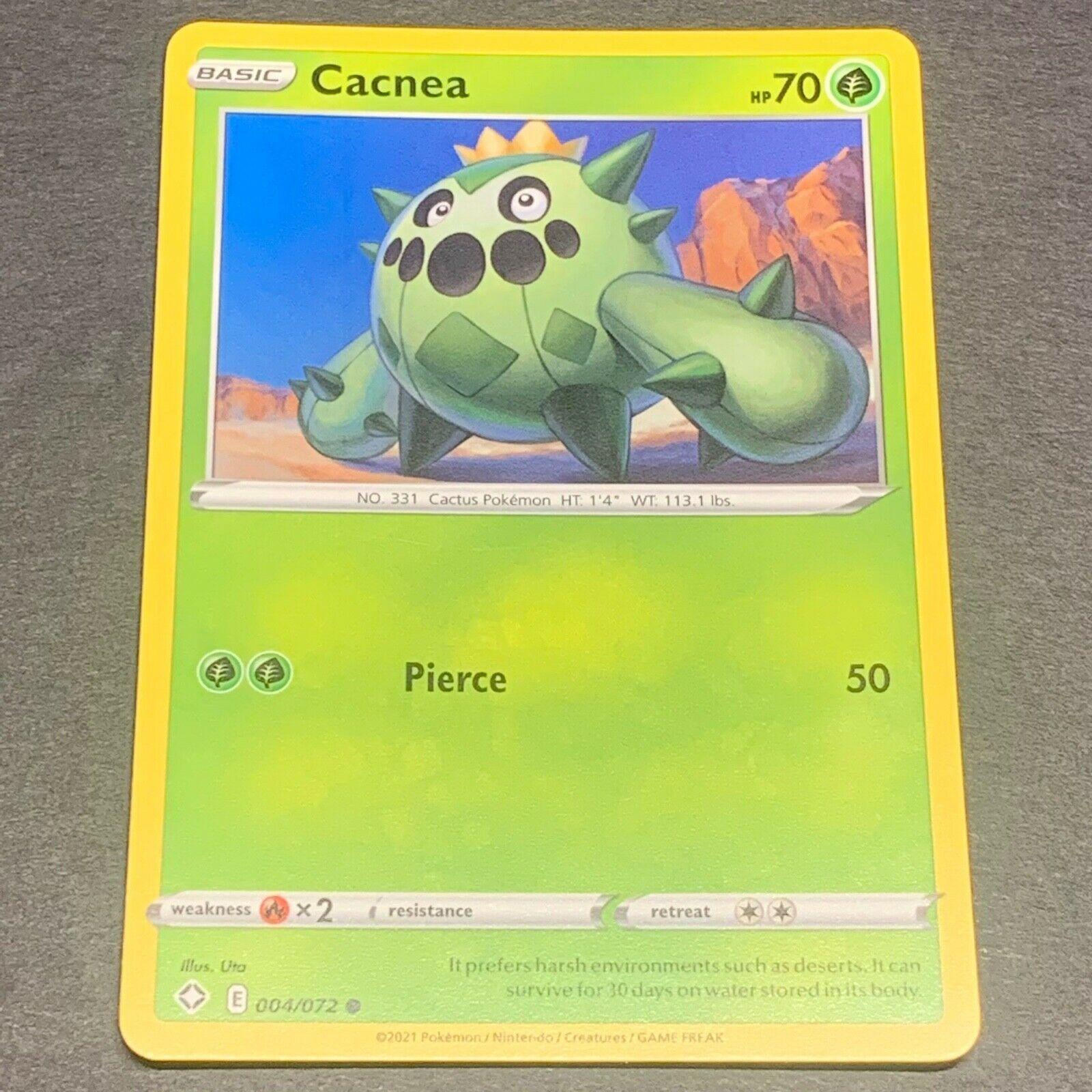 Cacnea  004//072 S/&S Shining Fates  Common  Near Mint Pokemon