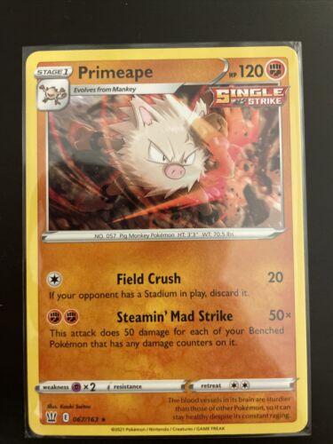 Primeape Non-Holo Rare 067/163 Pokémon Battle Styles NM/M
