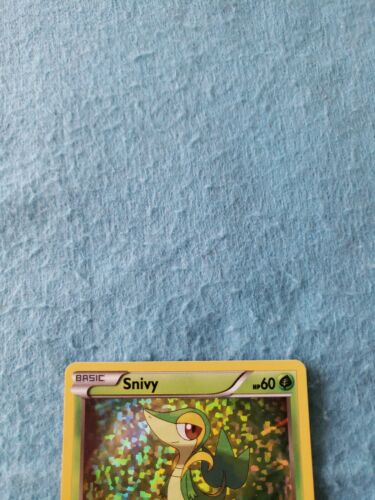 2021 Pokemon McDonald's 25th Anniversary Snivy Holo Card 5/25 Nintendo - Image 2