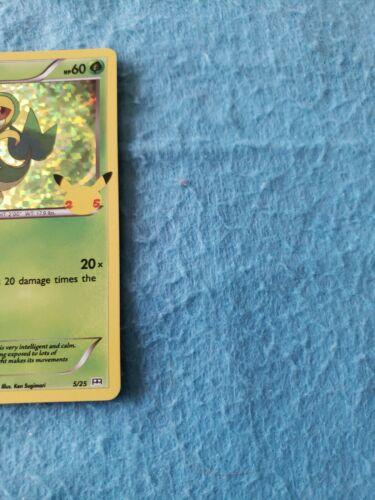 2021 Pokemon McDonald's 25th Anniversary Snivy Holo Card 5/25 Nintendo - Image 5