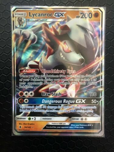 Guardians Rising 74 Lycanroc GX SM