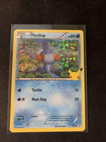 Pokemon 2021 McDonald's 25th Anniversary HOLO Promo Mudkip 19/25