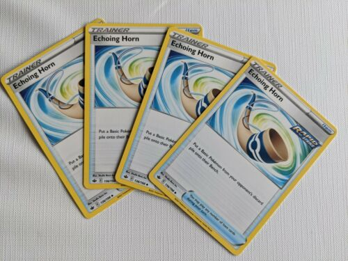 Pokemon Chilling Reign Echoing Horn 136/198 Playset