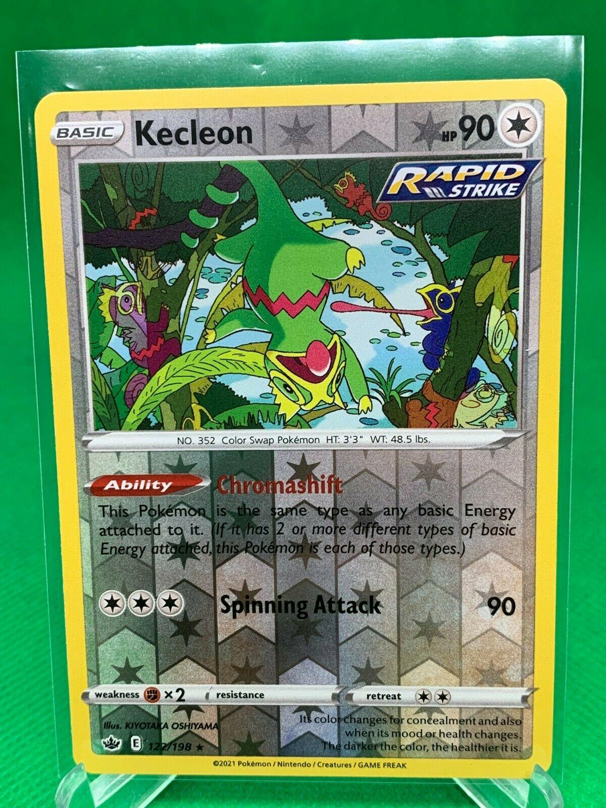 Pokemon - Kecleon - Chilling Reign - 122/198 - Reverse Holo Rare