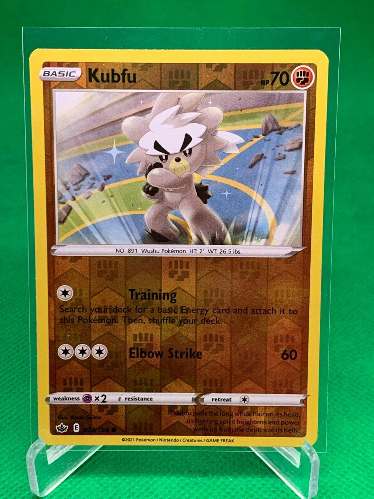 Pokemon - Kubfu - Chilling Reign - 093/198 - Reverse Holo