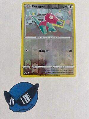 Pokemon TCG : Porygon 116/198 Reverse Holo Chilling Reign  - Image 1