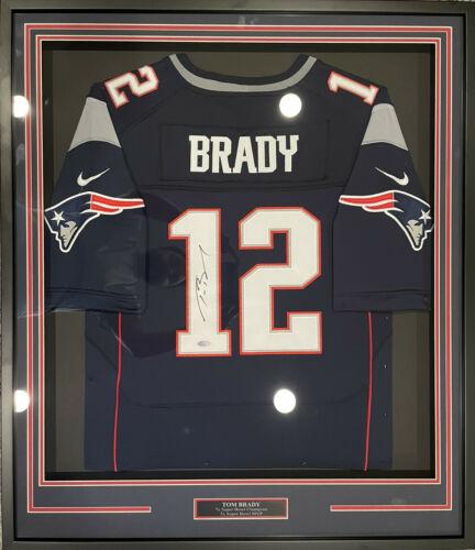 autographed tom brady jersey