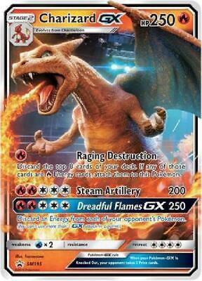 Charizard GX - SM195 - Oversize Promo NM Pokemon Oversized Cards