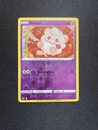 Pokemon TCG Chilling reign reverse holo Swirlix 067/198 NM