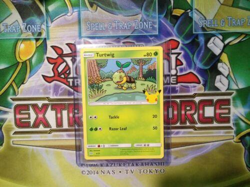 Pokemon: Turtwig 4/25 - Non Holo - Mcdonald's Promo 25th Anniversary - *M-NM