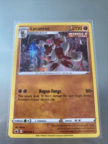 Lycanroc - Pokemon SWSH Chilling Reign - Holo Rare - 087/198 ())
