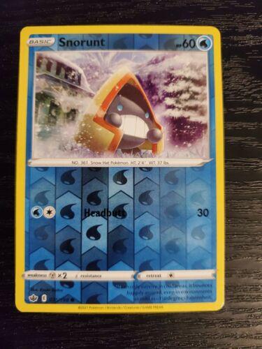 Snorunt 035/198 Chilling Reign Reverse Holo Pokemon Card NM