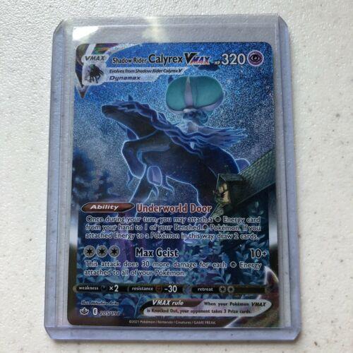 Shadow Rider Calyrex VMAX (Alternate Art Secret): Chilling Reign 205/198