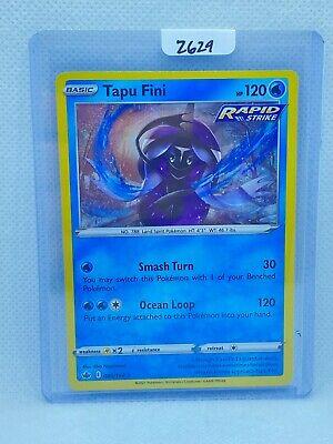 Pokémon TCG Tapu Fini Holo 040/198 | Chilling Reign | Play/Grade Ready