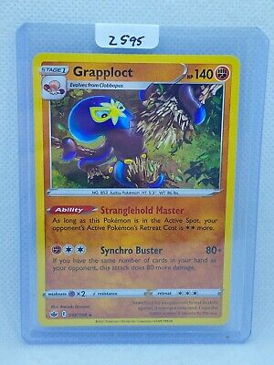 Pokémon TCG Grapploct Holo 092/198 | Chilling Reign | Play/Grade Ready