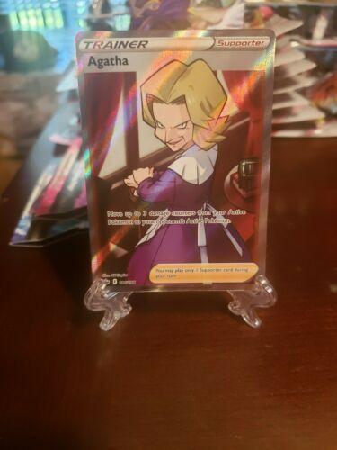 Agatha Full Art Rare 186/198 - Pokemon Chilling Reign