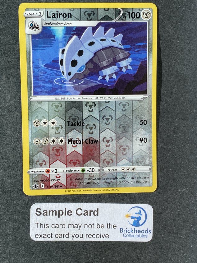 Lairon 110/198 Reverse Holo | SWSH: Chilling Reign | Pokemon Card