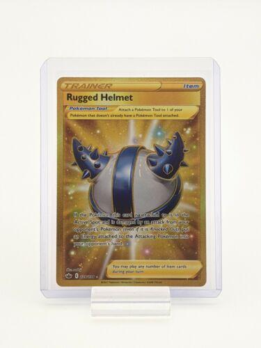 Rugged Helmet 228/198 Chilling Reign Pokemon TCG Secret Rare NM