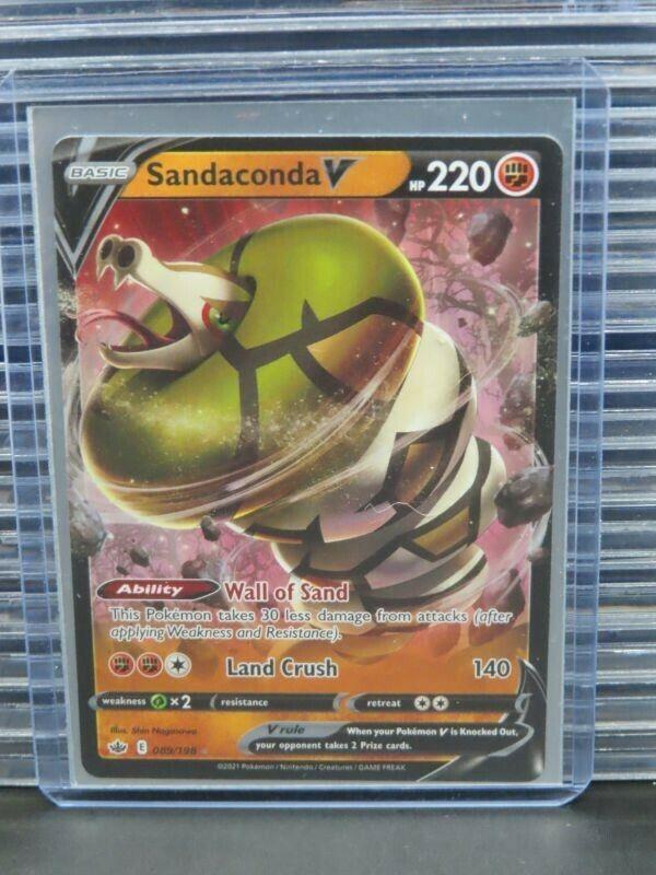 Pokemon Game Sandaconda V Chilling Reign Ultra Rare #089/198 (A) P656