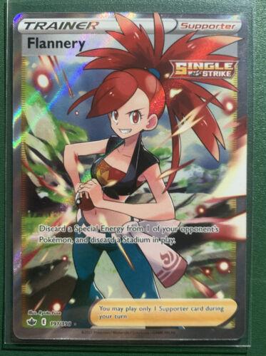 Flannery (Full Art) - 191/198 - Chilling Reign Ultra Rare Pokemon Card NM