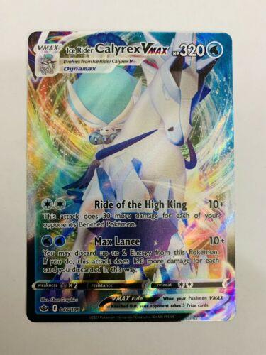 ICE RIDER CALYREX VMAX 046/198 — Pokémon TCG Chilling Reign -NM