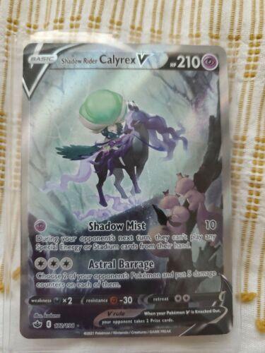 Shadow Rider Calyrex V (172/198) - Alt Full Art Chilling Reign- Pokemon TCG NM
