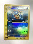 Pokemon Card Expedition Blastoise 36/165. Reverse Holo. 2002.