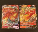 Blaziken VMAX 021/198 and Blaziken V 020/198 - Chilling Reign - Pokemon NM